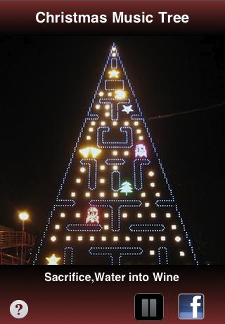 Get the Free Christmas Music Tree App