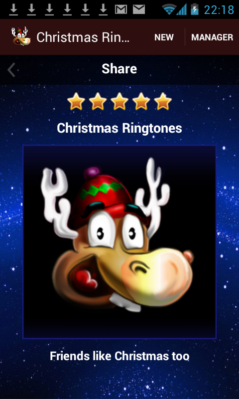 get the free christmas ringtone app